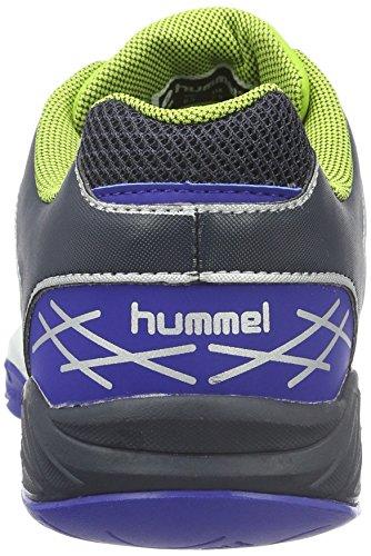 Hummel Omnicourt Z4 -  Scarpe Sportive Indoor Unisex Adulto Verde (Surf The Web)
