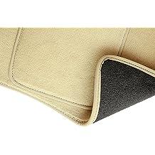 PREMIUM Alfombrillas de velour - 2 piezas - beige - 5902311246427