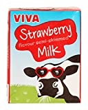 Viva Strawberry Flavoured Milk Cartons - 27x200ml