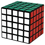 5x5x5 Magique Cube Coolzon Speed Cube Cerveau Teasers Jouet Puzzle 63mm, Noir