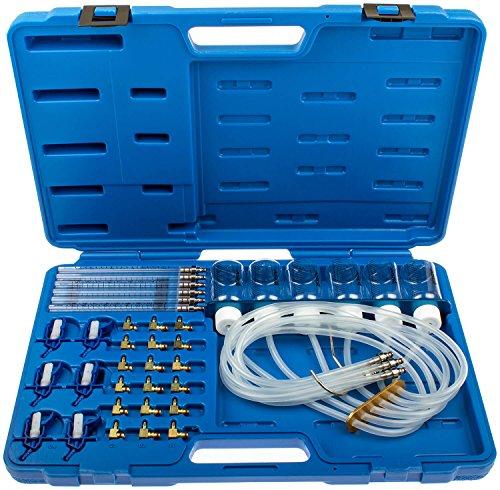 Common Rail Tester mit 24 Adaptern Prüfgerät für Dieselmotoren Denso C1 C3 Siemens C3 Delphi Einspritzdüsen