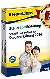 SteuerSparErklärung 2015 - Schnell & einfach zur Steuererklärung 2014
