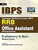 IBPS RRB-CWE  Office Assistant (Multipurpose) Preliminary & Main Guide 2017