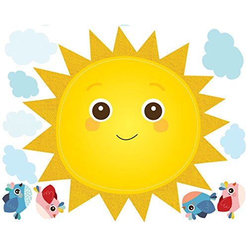 wallies-baby-sunshine-decals-peel-and-stick-decor-multi-colour