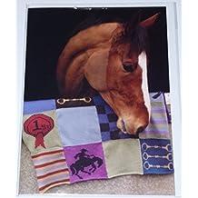 Biglietto d' auguri–Oristano il cavallo