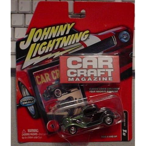 Johnny Lightning Car Craft Magazine: 1932 Ford Coupe BLACK #1 by Johnny Lightning