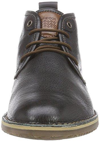 Geox U ZAL B Herren Desert Boots Schwarz (Blackc9999)