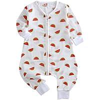 Panpan Tree Pijama Bebé Niño Niña Saco de Dormir con Piernas Separadas Sleepwear Verano