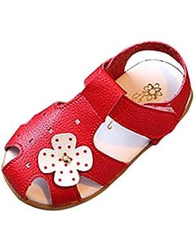 Huhu833 Babyschuhe, Baby Kinder Fashion Kinder Mädchen Sommer Blume Casual Sandalen Schuhe