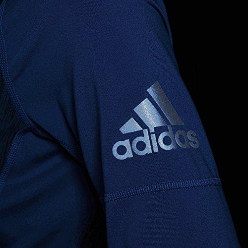 Adidas–Pantaloncini da allenamento Performer Baseline 1/4zip giacca Collegiate Royal Heathered