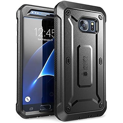 Carcasa para Samsung Galaxy S7 2016, Funda completa resistente SUPCASE con protector de pantalla integrado, serie Unicorn Beetle PRO