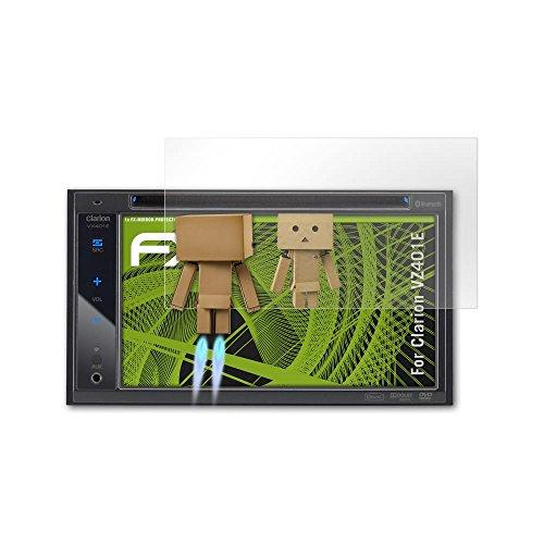 Clarion VZ401E Spiegelfolie - atFoliX FX-Mirror Displayschutz Folie mit Spiegeleffekt