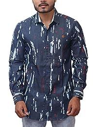PP Shirts Men Casual Printed Shirt