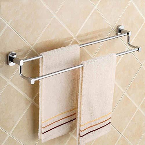 WYMBM Handtuchhalter voller Kupfer Bad-Accessoires Handtuchhalter Double bar Handtuchhalter Höhe oval Base -