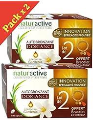 Doriance Dermo-Nutrition Autobronzant Lot de 4 x 30 Capsules