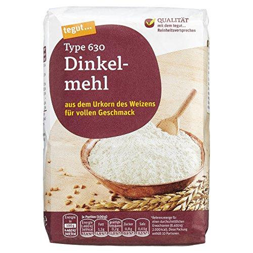 Tegut Dinkelmehl Typ 630, 1.00 kg