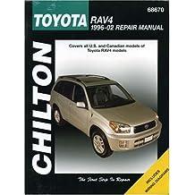 Toyota RAV4 Repair Manual: Covers U.S. and Canadian Models of toyota RAV4 Models: 1996-2002 (Chilton's Total Car Care Repair Manual)