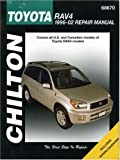 Toyota RAV4 Repair Manual: Covers U.S. and Canadian Models of toyota RAV4 Models: 1996-2002 (Chilton's Total Car Care Repair Manual)