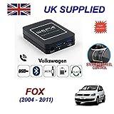 Cablesnthings für VW Fox Musik Streaming Bluetooth Telefon Lenkradsteuerung Telefon Ladegerät Sd Eingang Doppel- Aux CD Modul 12-pin