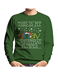 Coto7 This Is My Ebay Christmas Jumpers Knit Pattern Mens Sweatshirt