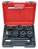 KS Tools 903.3300 Coffret de filière à main 3/8'-1/2'-3/4'-1'-1'1/4
