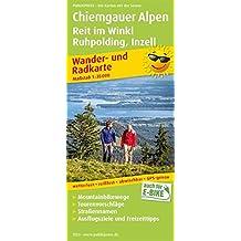 Chiemgauer Alpen, Reit im Winkl, Ruhpolding, Inzell: Wander- und Radkarte mit Ausflugszielen & Freizeittipps, wetterfest, reißfest, abwischbar, GPS-genau. 1:35000 (Wander- und Radkarte / WuRK)