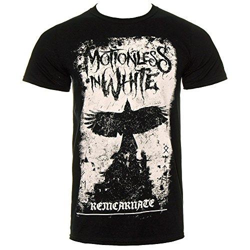 Phoenix ufficiale MOTIONLESS IN WHITE maglietta MIW Band Heavy Metal gotico Black Small