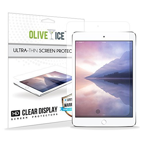 Preisvergleich Produktbild (3er-Pack) iPad Pro 9.7 Screen Protector, OliveIce kratzfest, Schutz geschichtet, Super dünn, Langlebig, Hochauflösend (HD) transparent Screen Protector für Apple iPad Air 1/ iPad Air 2/ iPad Pro 9.7""