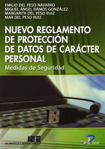 Nuevo reglamento de protección de datos de carácter personal de carácter personal: Medidas de Seguridad