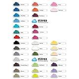 etérea Comfort Jersey Spannbettlaken - in viele Farben und alle Größen - 100% Baumwolle, Blau 140x200 - 160x200 cm für etérea Comfort Jersey Spannbettlaken - in viele Farben und alle Größen - 100% Baumwolle, Blau 140x200 - 160x200 cm