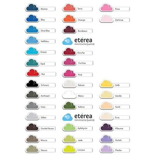 Etérea Comfort Kinder Jersey Spannbettlaken - in viele Farben und alle Größen - 100% Baumwolle, Dunkel Braun 60x120-70x140 cm - 7