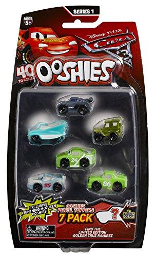 Ooshies Cars Bleistiftaufsätze, 7 Verschiedene-Welle 1 -