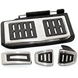 Stainless steel Car Pedal fit Volkswagen VW GOLF 7 GTi MK7 Only Fit Left Hand Drive Car