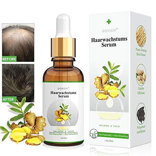 Haarwachstum Serum, Anti-Haarausfall, Haarserum für Haarwachstum Beschleunigen, Haarwuchsmittel für Frauen und Männer,für dünner werdendes Haar, Verdickung und Nachwachen, für schnelles Haarwachstum