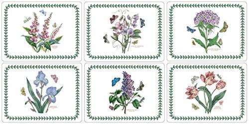 Pimpernel Botanic Platzsets, Garten-Motiv, 6Stück