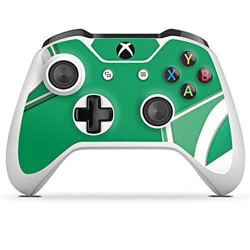 DeinDesign Skin Aufkleber Sticker Folie für Microsoft Xbox One S Fanartikel Fussball Football