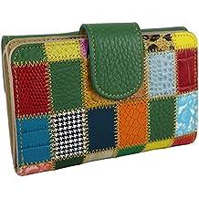Amazon.es: piel de ubrique cartera mujer - Verde