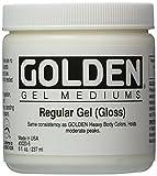 Golden Medien Wandbild Regular Gloss Gel medium-8oz