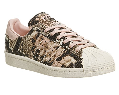 Adidas - Basket Superstar 80s W S76419 Rose Croco Multicolore