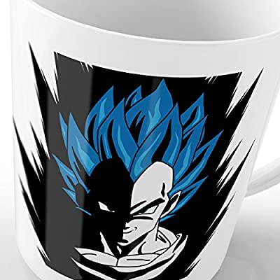 style3 Super Vegeta Blue God Mode Tasse avec motif