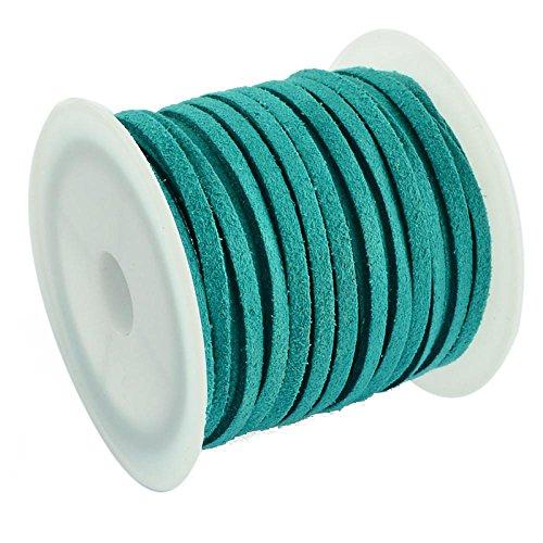 pandahall-3x15mm-plana-cable-de-gamuza-de-imitacionverde-sobre-5m-rollo