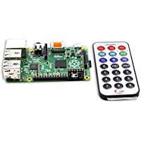 SunFounder Media Remote Control With IR Receiver Module Kit For Raspberry Pi 3, 2 and RPi 1 Model B B+