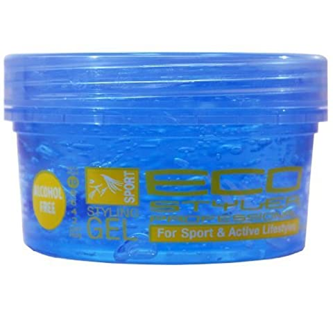 Eco Styling Gel - Blue 8 oz. (Pack of 6) by Eco Styler