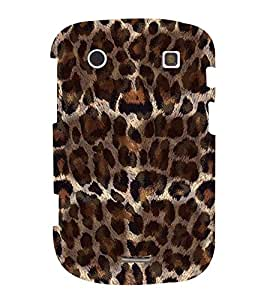 FUSON Leopard Fur Background 3D Hard Polycarbonate Designer Back Case Cover for BlackBerry Bold Touch 9900 :: BlackBerry Dakota :: BlackBerry Magnum