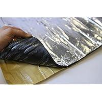 Telo in schiuma per isolamento termico, riflettente, per alte temperature, isolamento acustico, 1 x 1 m x 10 mm - Alta Isolamento Termico