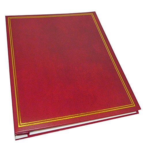 Dorr Classic selbstklebende nachfüllbar Fotoalbum, Vinyl, Burgund, 33x 5x 25cm Refill Foto-album-seiten 8x10