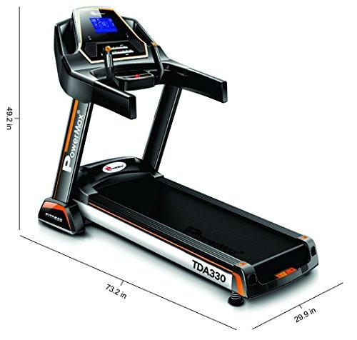 Image of Powermax TDA 330 Treadmill - Verdure Wellness