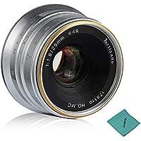 7artisans 25mm F1.8 Manuelle Objectiv Große Blende für Fujifilm Fuji X-A1 / X-A10 / X-A2 / X-A3 / X-at/X-M1 / X-M2 / X-T1 / X-T10 / X -T2 / X-T20 / X-Pro1 / X-Pro2 / X-E1 / X-E2 / X-E2s FX-Mount