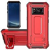 KUAWEI Coque Samsung Galaxy S8 Cover Slim Armure Series - Lourde Hybride Protège...
