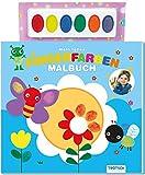 Mein tolles Fingerfarben Malbuch: Mit Farbpalette!